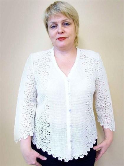 Жакет льняной - фото 21305