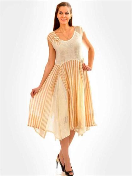 Платье изо льна - фото 21393