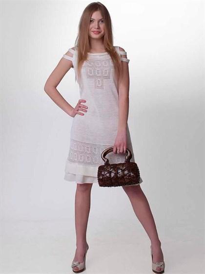 Платье из льна - фото 21406