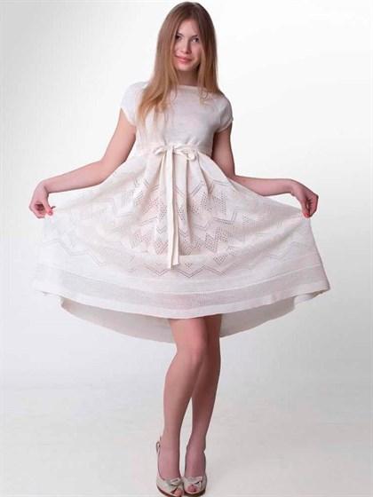 Платье изо льна - фото 21412