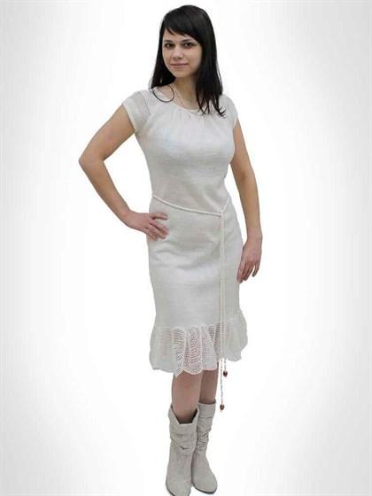 Платье из льна - фото 21506