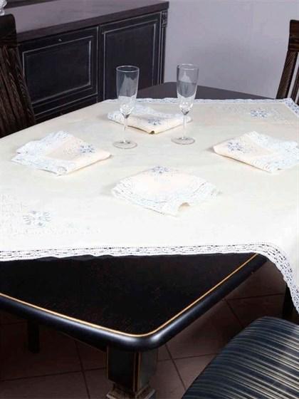 """Комплект столового белья """"Снежинки"""" - фото 21622"""