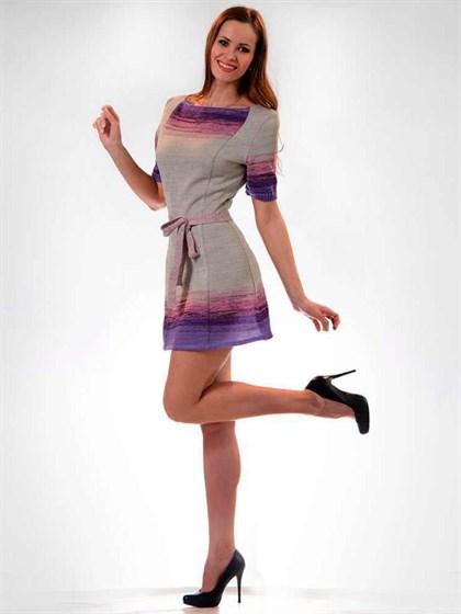 Платье из льна - фото 21691