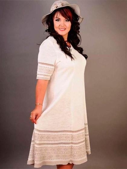 Платье изо льна - фото 21751