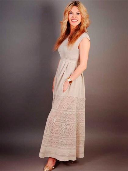 Платье льняное - фото 21757