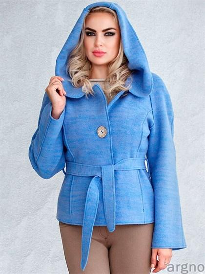 Пальто из валяной шерсти с добавлением льна - фото 21834