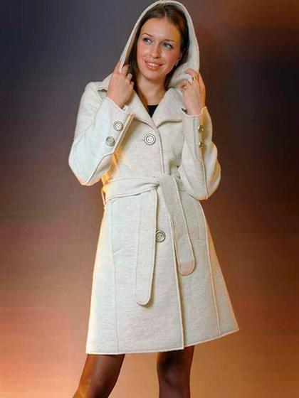Пальто из валяной шерсти - фото 21864