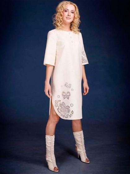 Платье изо льна - фото 21940
