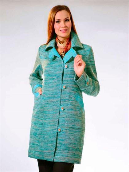 Пальто льняное - фото 21960