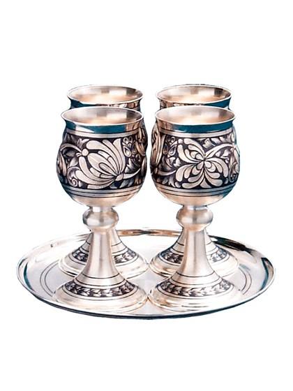 Винный набор из серебра - фото 22012