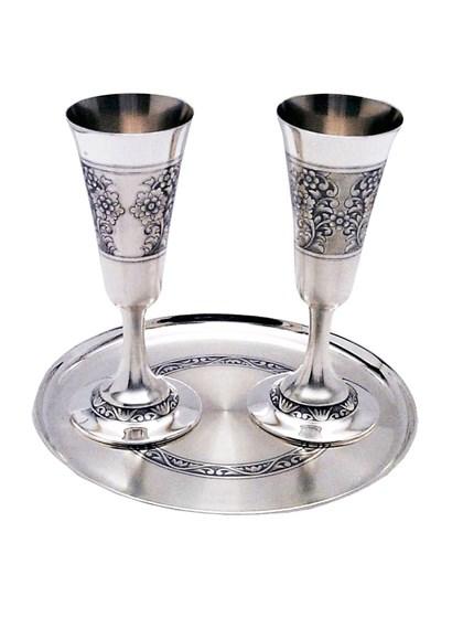 Винный набор из серебра - фото 22015