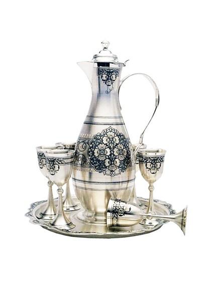 Винный набор из серебра - фото 22017