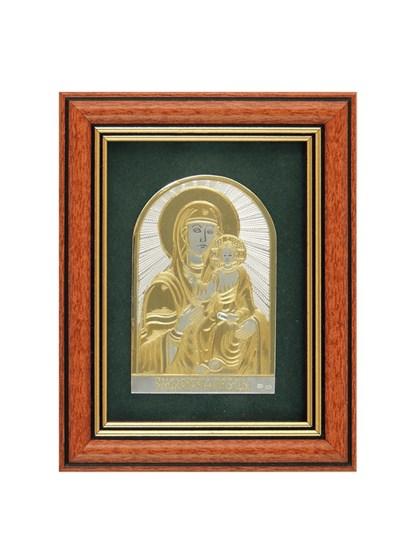 Икона серебряная Пресвятой Богородицы Смоленская - фото 22105