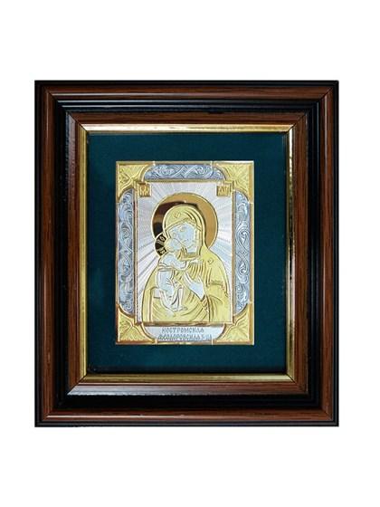 Икона серебряная Пресвятой Богородицы Костромская - фото 22108
