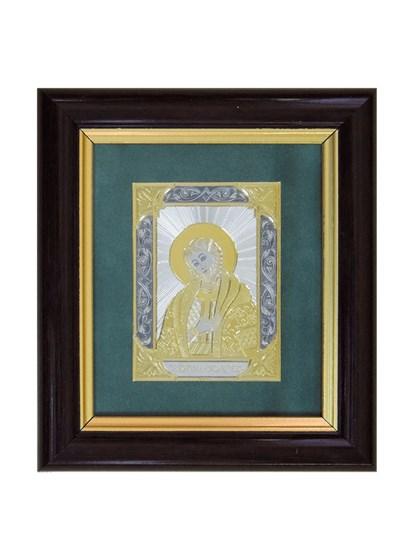 Икона серебряная Александр Невский - фото 22125