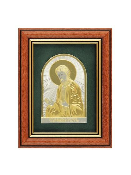 Икона серебряная Иоанн Предтеча - фото 22130