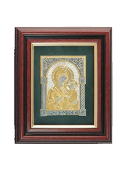 Икона серебряная Пресвятой Богородицы Тихвинская - фото 22140