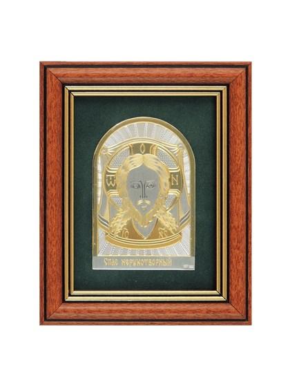Икона серебряная Спас Нерукотворный - фото 22153