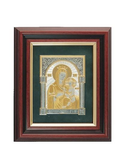Икона серебряная Пресвятой Богородицы Скоропослушница - фото 22156