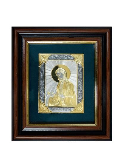 Икона серебряная Иоанн Предтеча - фото 22168