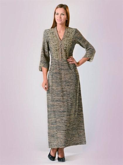 Платье льняное - фото 22285