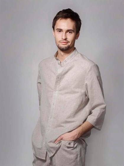 Рубашка льняная - фото 22324