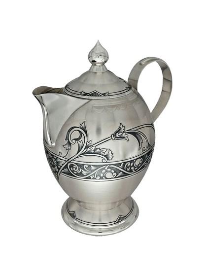 Чайник серебряный - фото 22335