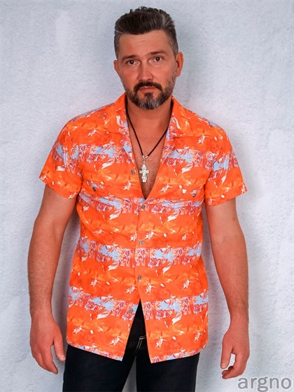 Рубашка льняная - фото 22345