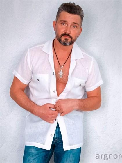 Рубашка льняная - фото 22349
