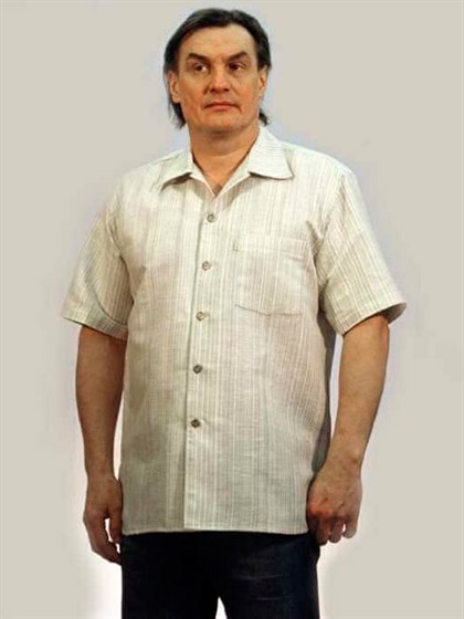 Рубашка льняная - фото 22354
