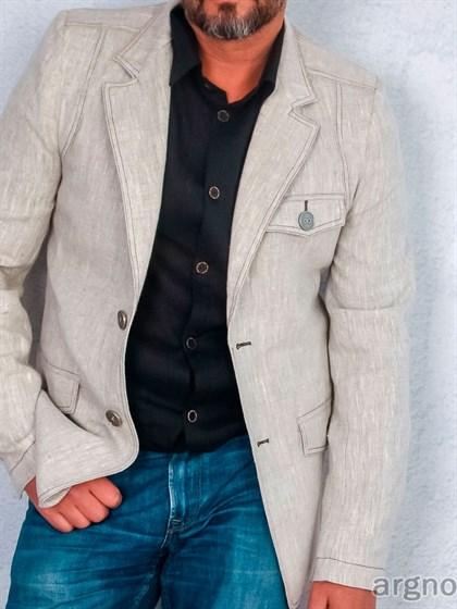 Пиджак льняной - фото 22357