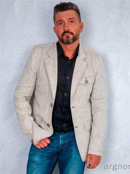 Пиджак льняной - фото 22358
