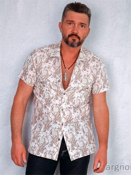 Рубашка льняная - фото 22393