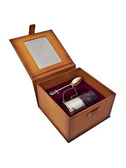 Подарочный набор серебряный - фото 22546