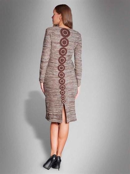 Платье льняное - фото 22564