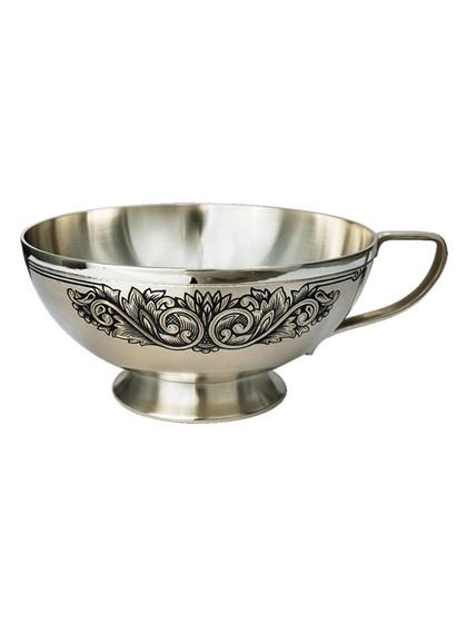 Чашка серебряная - фото 22675