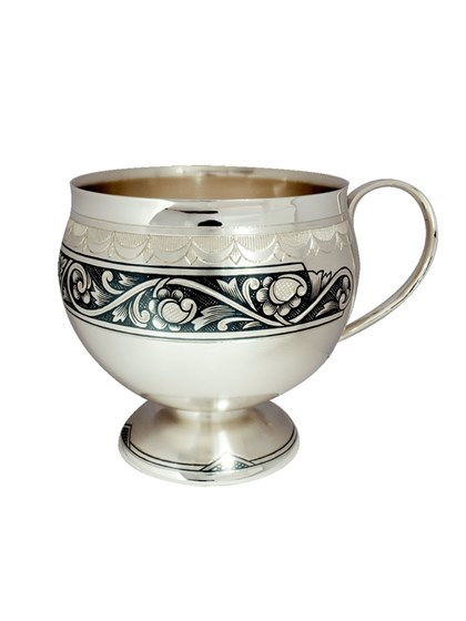 """Серебряная чашка """"Гармония"""" - фото 22682"""