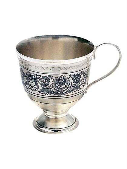 Чашка серебряная - фото 22685