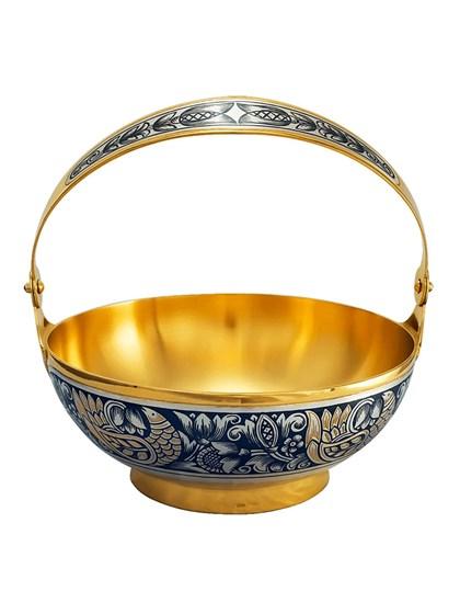 Серебряная ваза - фото 22699
