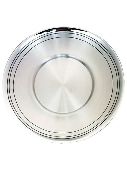 Блюдце серебряное - фото 22729