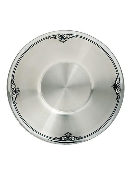 Блюдце серебряное - фото 22730