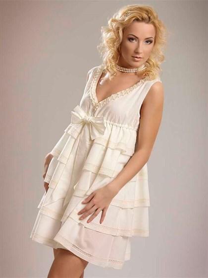 Платье с воланами - фото 22804