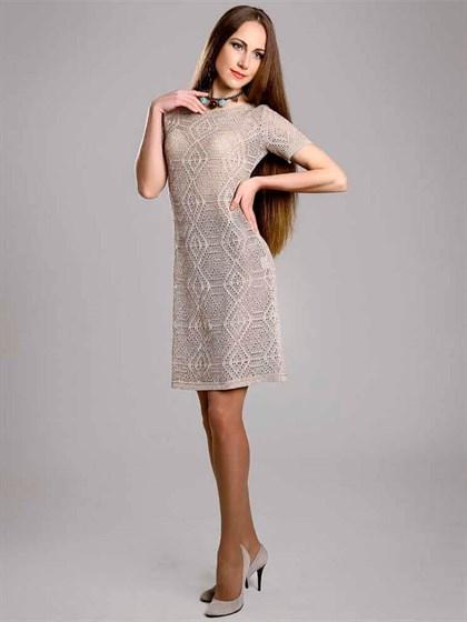 Платье льняное - фото 22811