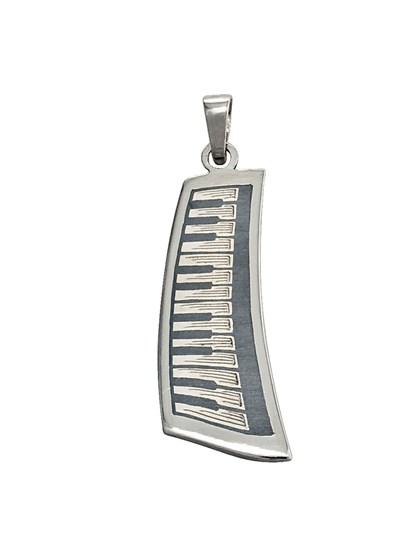 "Подвеска из серебра ""Пиано"" - фото 22985"