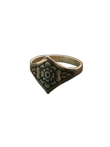 Кольцо из серебра - фото 23023