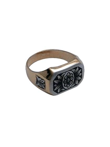 Кольцо из серебра - фото 23025