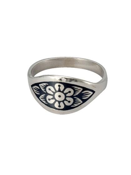 Кольцо из серебра - фото 23036