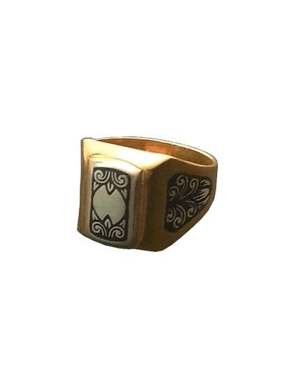 Серебряное кольцо - фото 23049