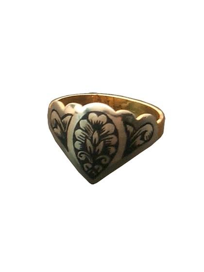 Кольцо из серебра - фото 23055