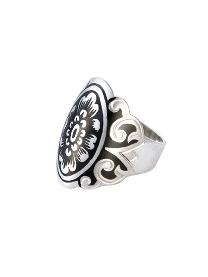 Серебряное кольцо - фото 23059